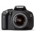 Canon EOS 600d Kit EF-S18-55 IS II